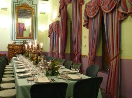 Salón Ajedrez at the Casa de Carmona - Imperial Table for 32 - Photo