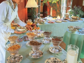 A Buffet Breakfast at the Loggia