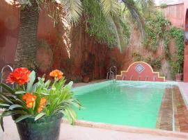 The Pool measures 9 x 4 meters, opens June to September