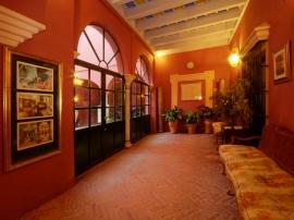 The Apeadero Gallery at the Casa de Carmona