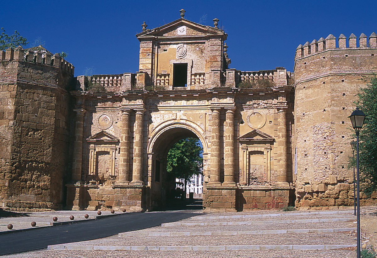 Puerta de cordoba en carmona casa palacio de carmona for Puertas de casa