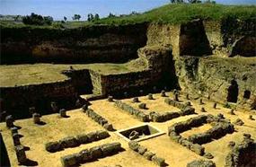 Tumba de Servilia en la Necropolis Romana de Carmona
