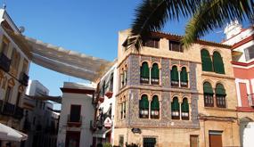 Plaza de San Fernando en Carmona