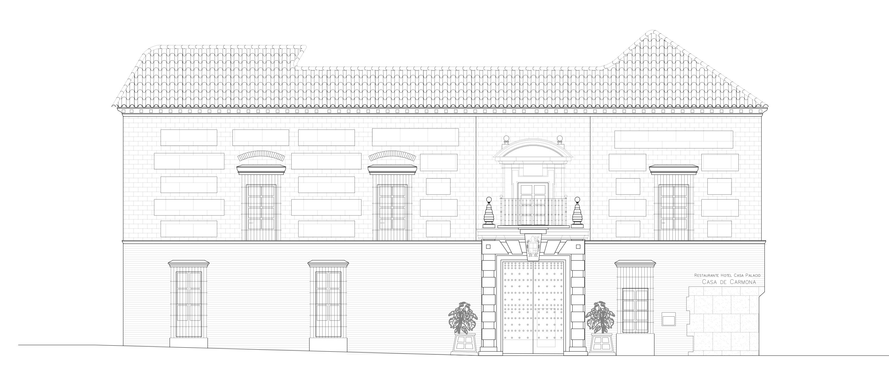 The Xvith Century Casa Palacio Casa Palacio De Carmona